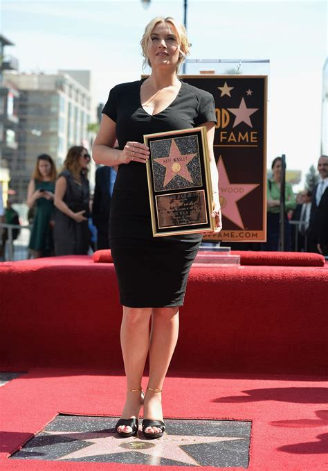 Style Walk Of Fame by Kate Winslet Honored With A On The Walk