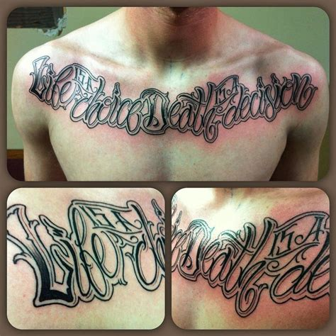 tattoo choice quiz quot life is a choice death is a decision quot by doug burkmire