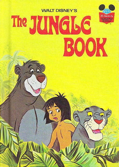 jungle book story with pictures the jungle book disney wonderful world of reading