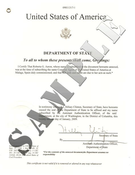 District Of Columbia Vital Records Certificate Authentications Of Documents State District Of Columbia
