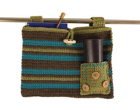 crochet walker bag pattern helping hand walker bag crochet pattern make several