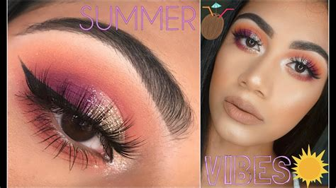 youtube tutorial summer glam makeup tutorial 2017 youtube