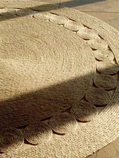 alfombra de yute alfombras de yute 10 000 por cada 10 cms de diametro