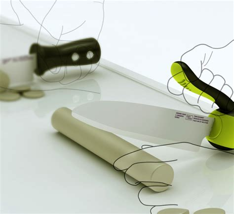Designer Kitchen Knives | redesign the kitchen knife yanko design