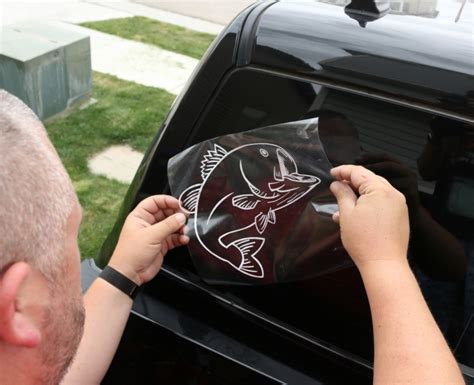 Make Your Own Vinyl Window Stickers