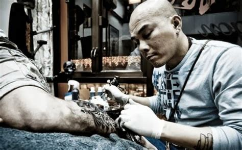 Beckham Tattoo Hong Kong | two countries one cistern flash and blood the