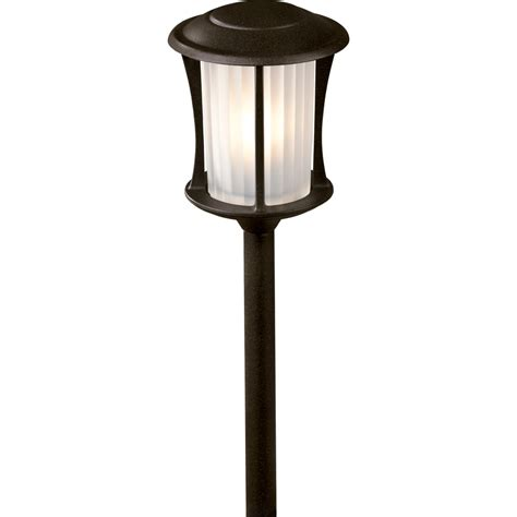 Portfolio Low Voltage Landscape Lighting Shop Portfolio Landscape Bronze Low Voltage Path Light At Lowes
