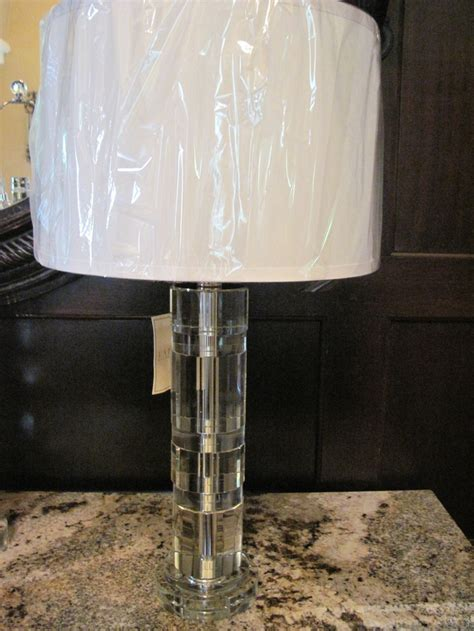 home goods crystal ls brand new ralph lauren farrah nickel l crystal