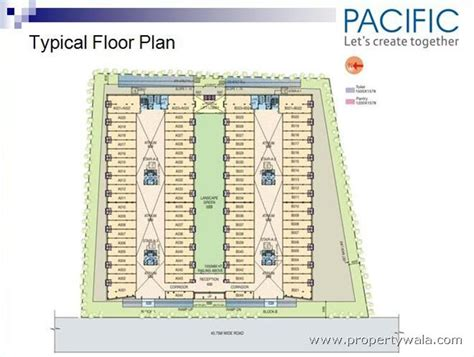 pacific mall floor plan pacific business park kaushambi ghaziabad commercial