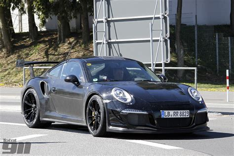 porsche gt3 991 exclusive porsche 991 gt3 rs spy shots total 911