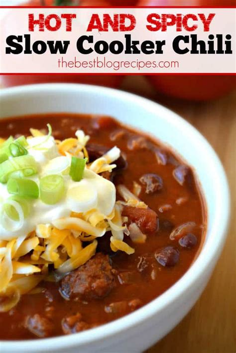 slow cooker chili w a kick the best blog recipes