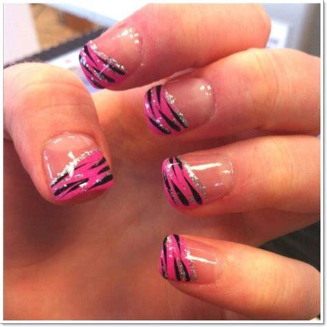 zebra pattern nail design 25 zebra print nails design ideas