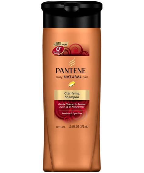 clarifying shoo for coloured hair pantene relaxed and natural truly natural hair