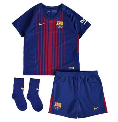 barcelona kit 2018 2017 2018 barcelona home nike baby kit for only 163 50 40 at