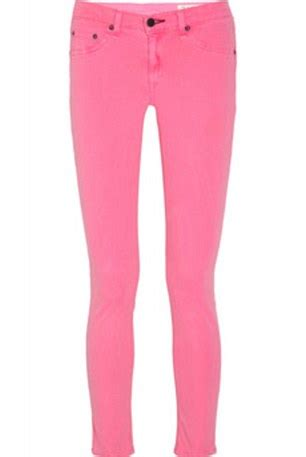 The future s rosy pink jeans are fashion s hot new trend even the