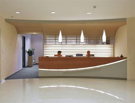 Modern Cabin Design foyer und empfang der dm zentrale salzburg lay