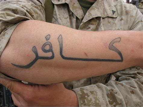 tattoo anti islam exclusive the crusader sub culture in the us military