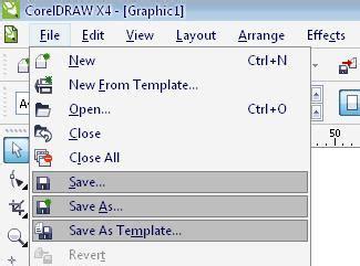 Corel Draw X4 Tidak Bisa Save | mengatasi corel draw x4 tidak bisa save export print