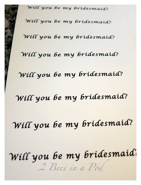 will you be my bridesmaid ornament 28 images quot will