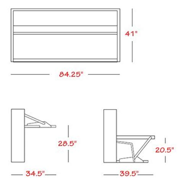 murphy bed desk combo plans murphy twin bed and desk combo bedrooms pinterest