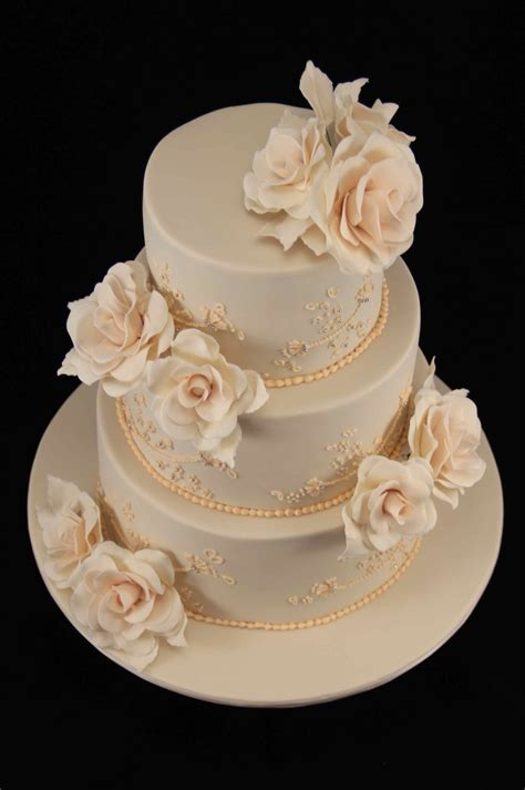 Wedding Cakes Roses by Wedding Cake Cakecentral