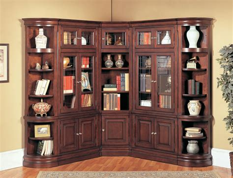 espresso bookcase with doors espresso bookshelf with doors bookshelves