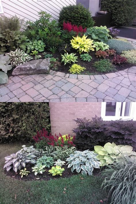 Low Maintenance Front Garden Ideas 1000 Images About For The Yard On Hedges Corner Landscaping And Foundation Planting