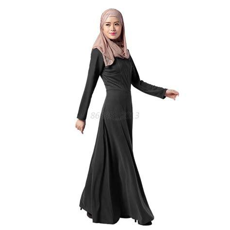 Maxi Muslim vintage sleeve maxi islamic kaftan abaya muslim