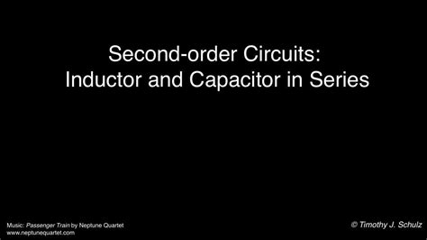 add inductor and capacitor in series introduction to series rlc circuits