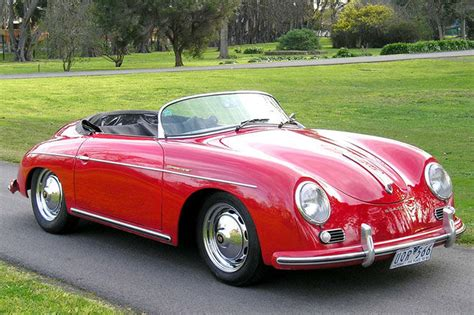 porsche speedster 356 speedster replica lhd auctions lot 37 shannons