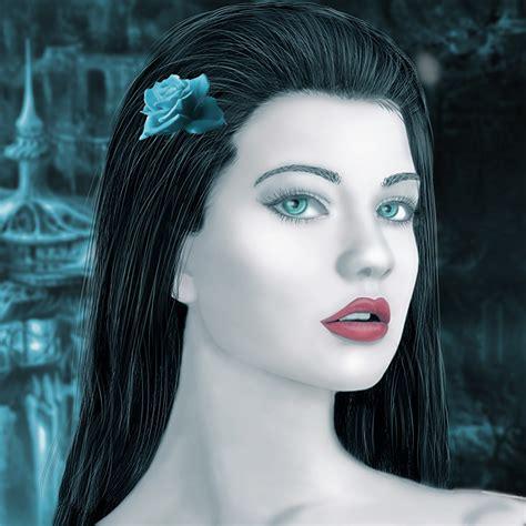 imagenes niñas japonesas fondos de pantalla cara contacto visual cabello negro nia