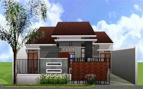 desain rumah tak depan sing belakang model desain tak depan rumah minimalis 1 dan 2 lantai
