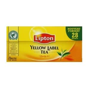 Detox Drink With The Yellow Label by Lipton Yellow Label Tea At My World