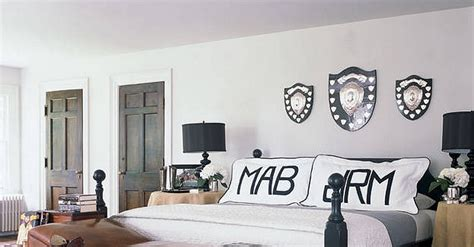 for a his and hers bedroom customize each side of the bed