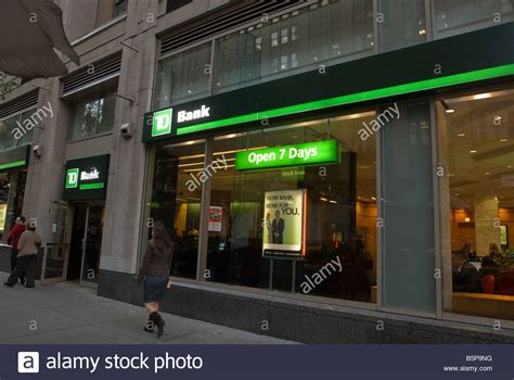 dt bank news a branch of td bank formerly commerce bank in the new york