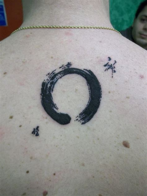 zen tattoo quotes marvel black color ink zen circle tattoo on back for boys
