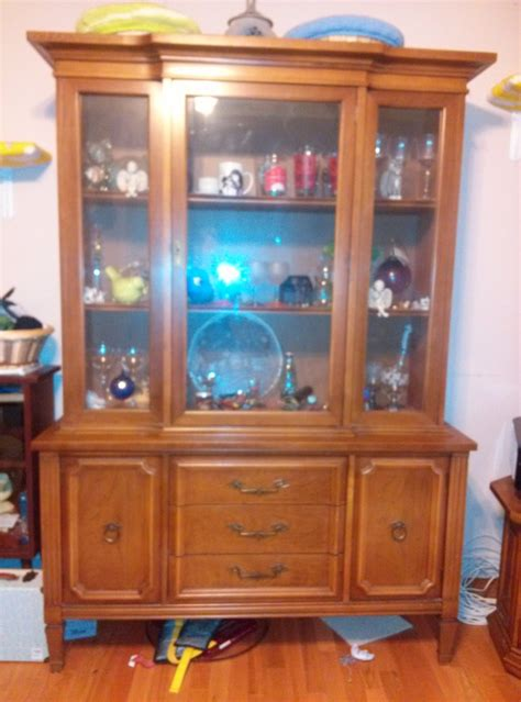 I Have A Large China Cabinet Made By Bassett Furniture Company. I Am Unsure My Antique