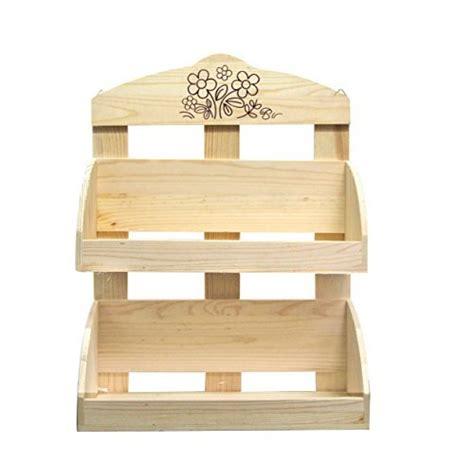 portaspezie legno srl scaffali portaspezie 2 mensole legno naturale