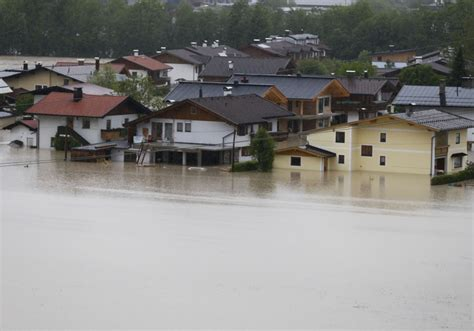 central europe battered by heavy floods video photos