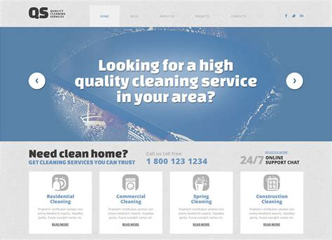 themes wordpress clean 12 cleaning company wordpress themes free premium