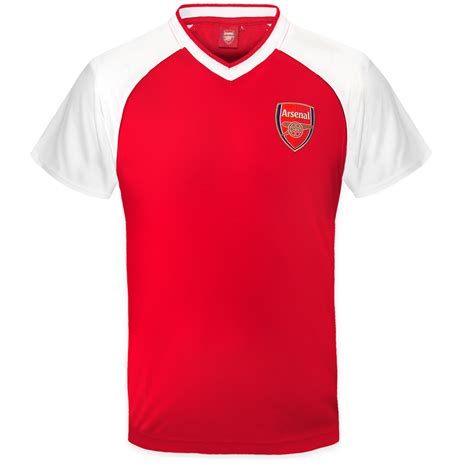 Tshirt Arsenal 2 arsenal fc official football gift boys poly kit t
