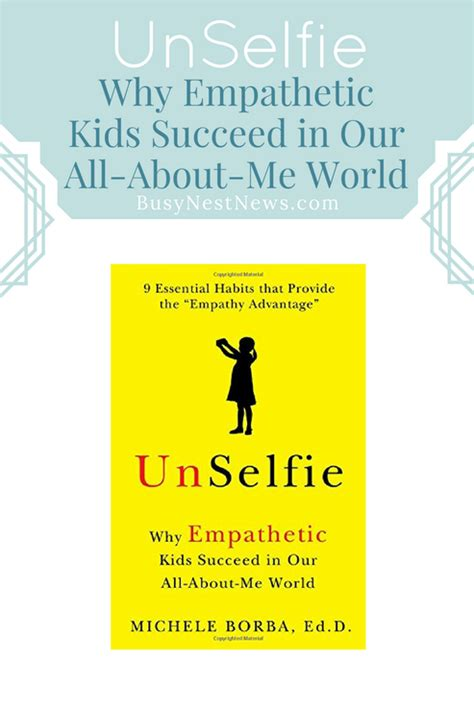 Pdf Unselfie Empathetic Succeed All About Me World by Category Kindness Busy Nest News