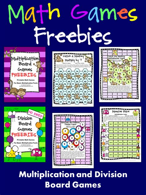 free printable division math games fun games 4 learning monster math games makeover