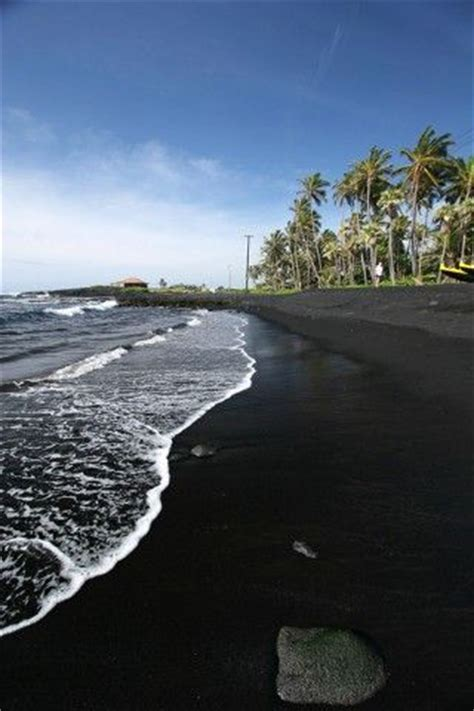 black sand beach big island wander wonder pinterest black sand beach kona