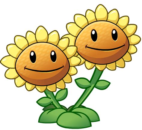 imagenes png vs imagen girasol doble png wiki plantas contra zombies