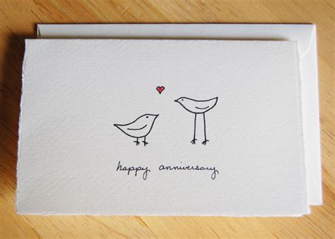 Easy Birthday Card Drawings Drawing Quotes For Him Quotesgram Cute Love Birds Drawings