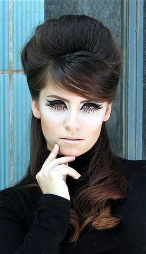 hair and makeup in the 60 s 60s retro hair and makeup the art of hair pinterest