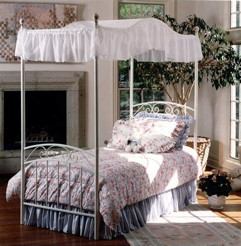 whimsical girls full canopy beds fit   princess