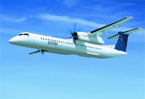 bombardier  aircraft continues  support porter