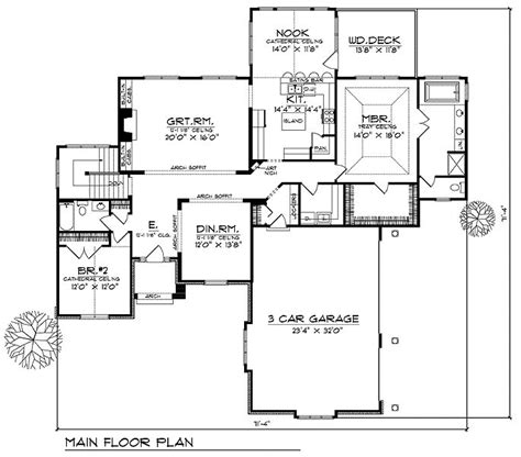 up house floor plan house floor plan for 94200ll walk out house plans